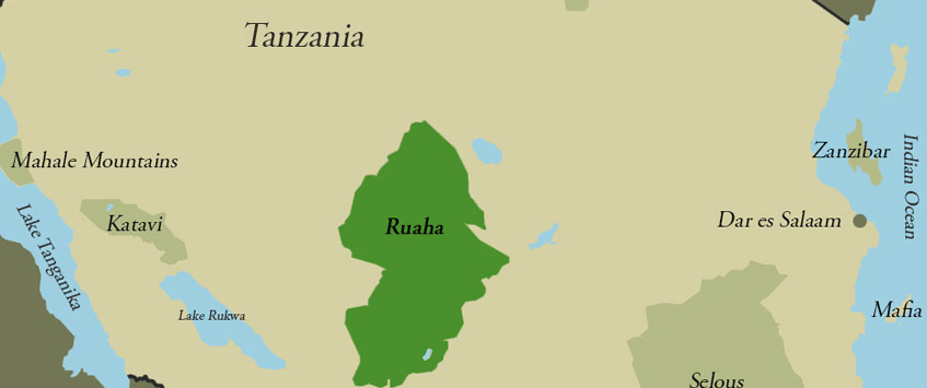 Ruaha National Park Map