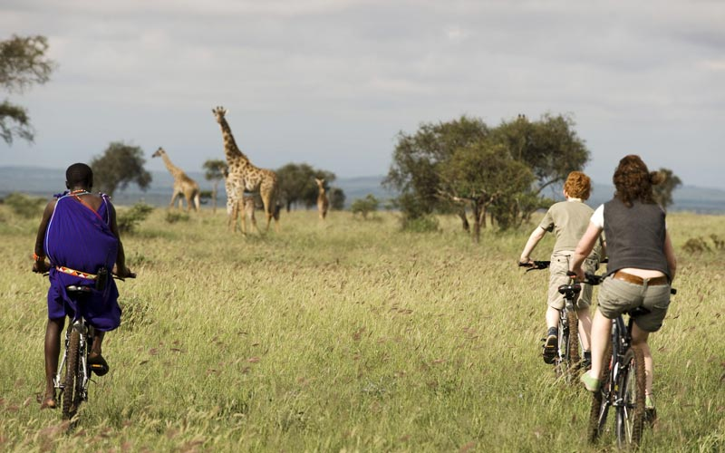 Tanzania Bicycle Safari