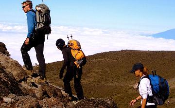 Kilimanjaro Climb Begin